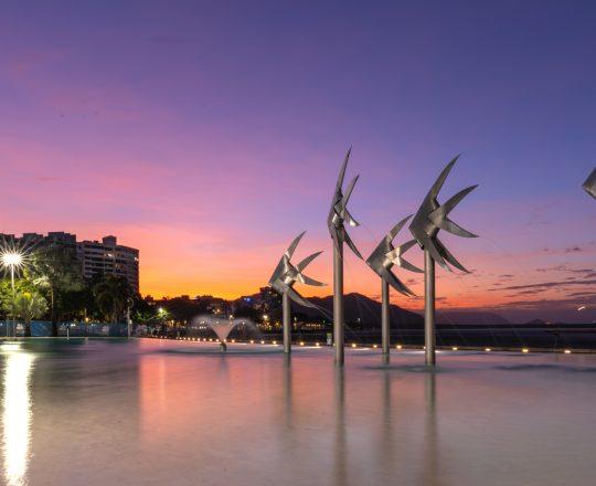 Cairns Esplanade Sunset